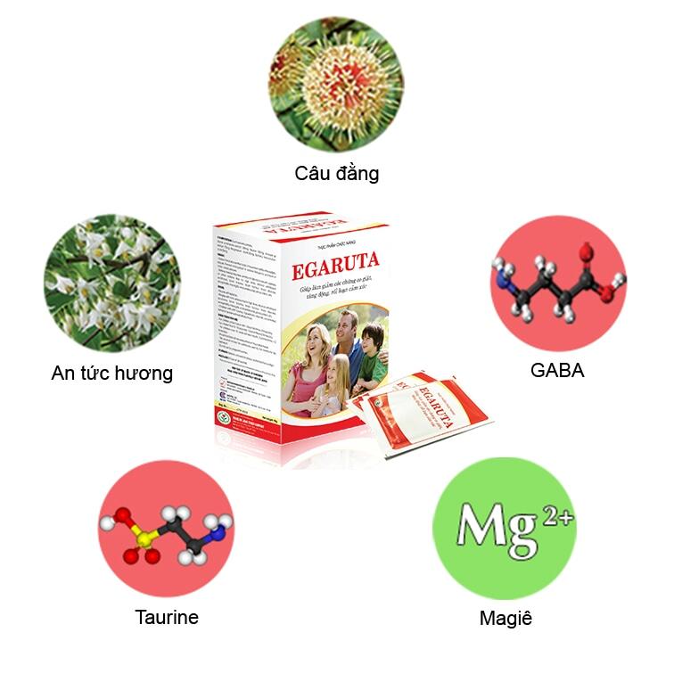Sản phẩm cốm Egaruta giúp trẻ tăng động bớt nghịch ngợm, tăng tập trung